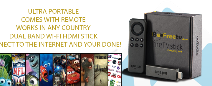 FireTV STICK FEATURING KODI