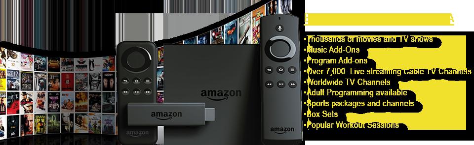 FireTV Sticks $100 & FireTV Box $200